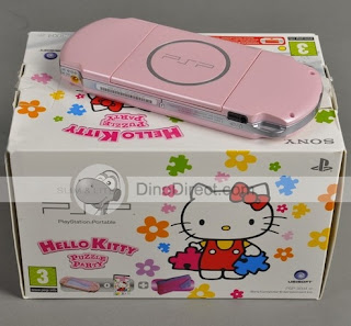 Hello Kitty pink limited edition Sony PSP game console