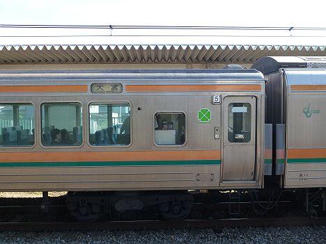 大宮行き211系グリーン車