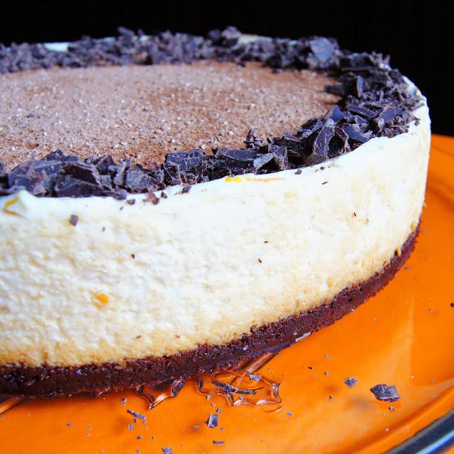 headtones: Blood Orange + Chocolate Cheesecake