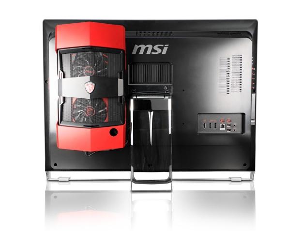 задняя сторона моноблока MSI Gaming 27XT