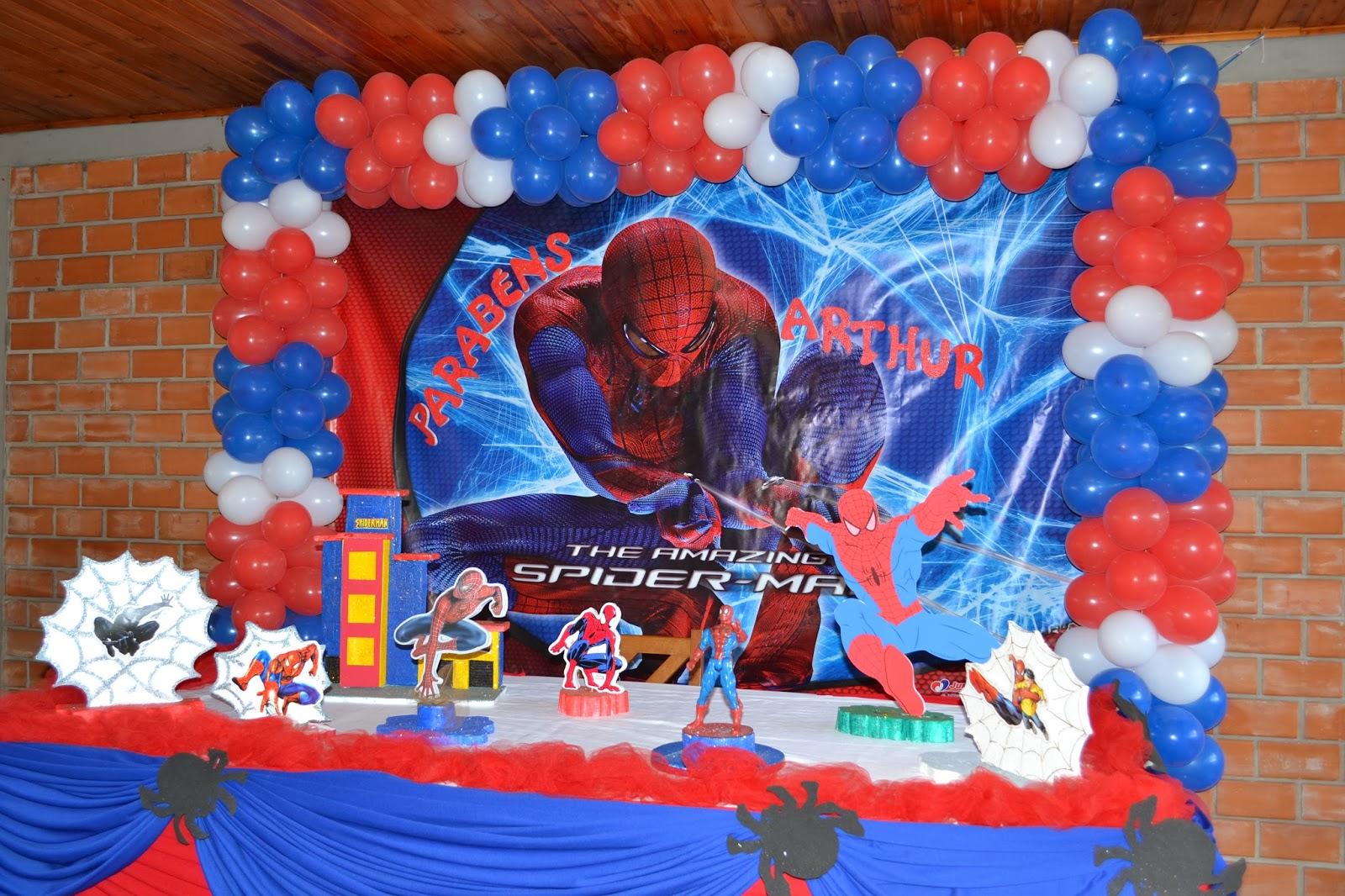 Aquarela Festas HOMEM ARANHA TRADICIONAL