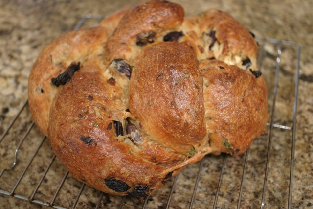 ... We're Cooking Now!: Kalamata Olive, Sun-dried tomato, and Feta Bread