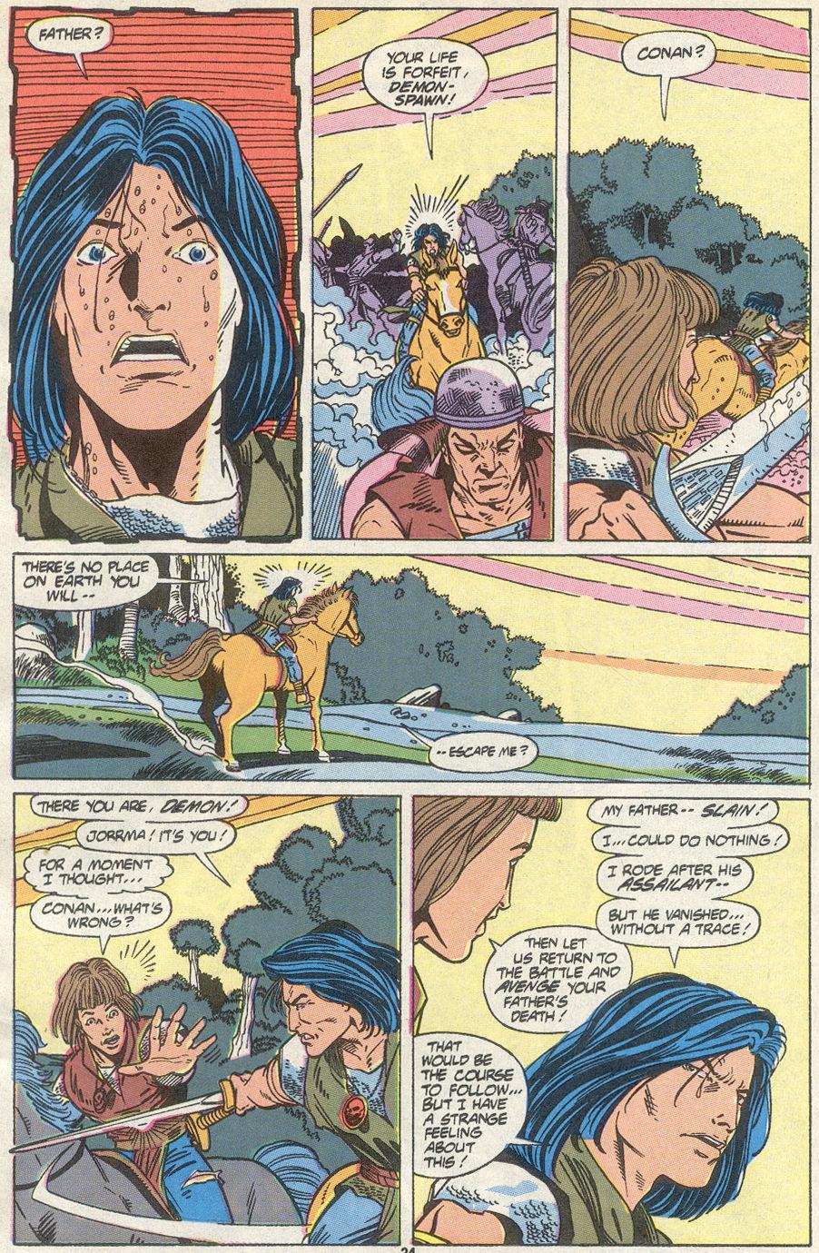 Conan the Barbarian (1970) Issue #234 #246 - English 19