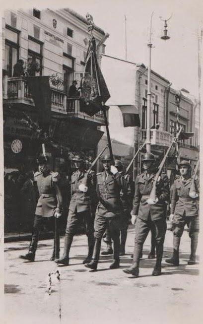 Parada militara din 10 mai 1938 din Botosani