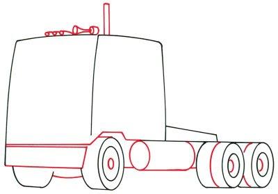 a desenhar Caminhão tunado rabisco de caminhao tunado cavalinho colorir