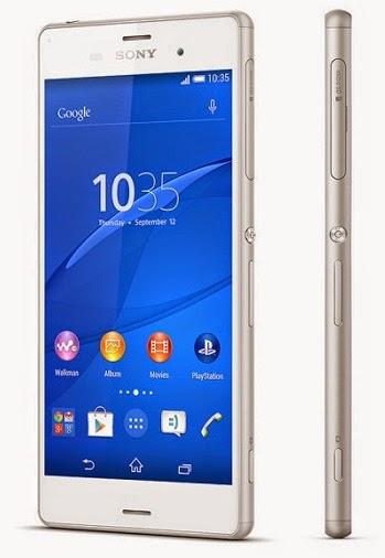Spesifikasi dan Harga HP Sony Xperia Z3