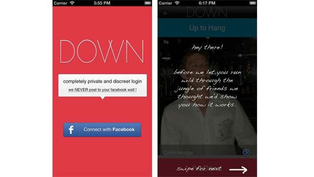 Banned 'Bang With Friends' App back in new avatar 'Down' for iOS devices