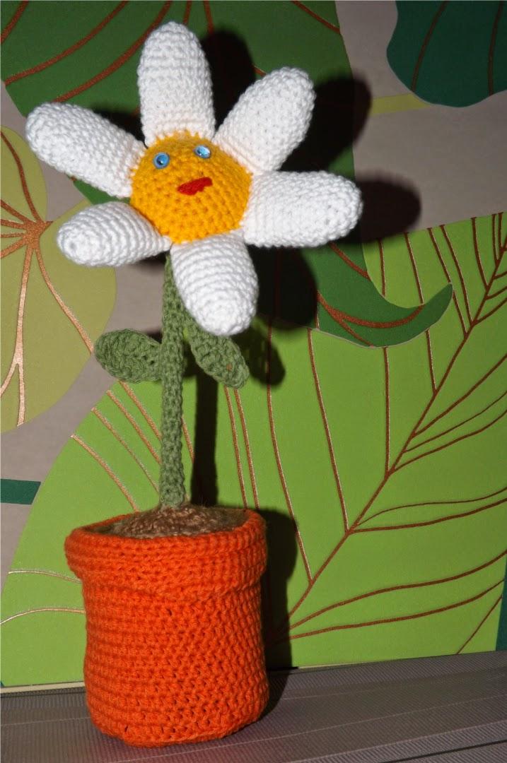 Amigurumi, flor de crochet
