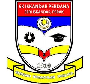 Lencana SK Iskandar Perdana yang baru (bermula perasmian pada 20/6/2011) Isnin