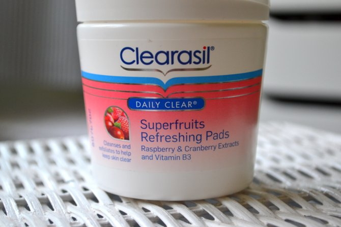 Clearasil Daily Care Superfruit Refreshing Pads