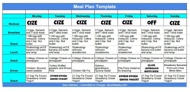 Cize Meal Plan