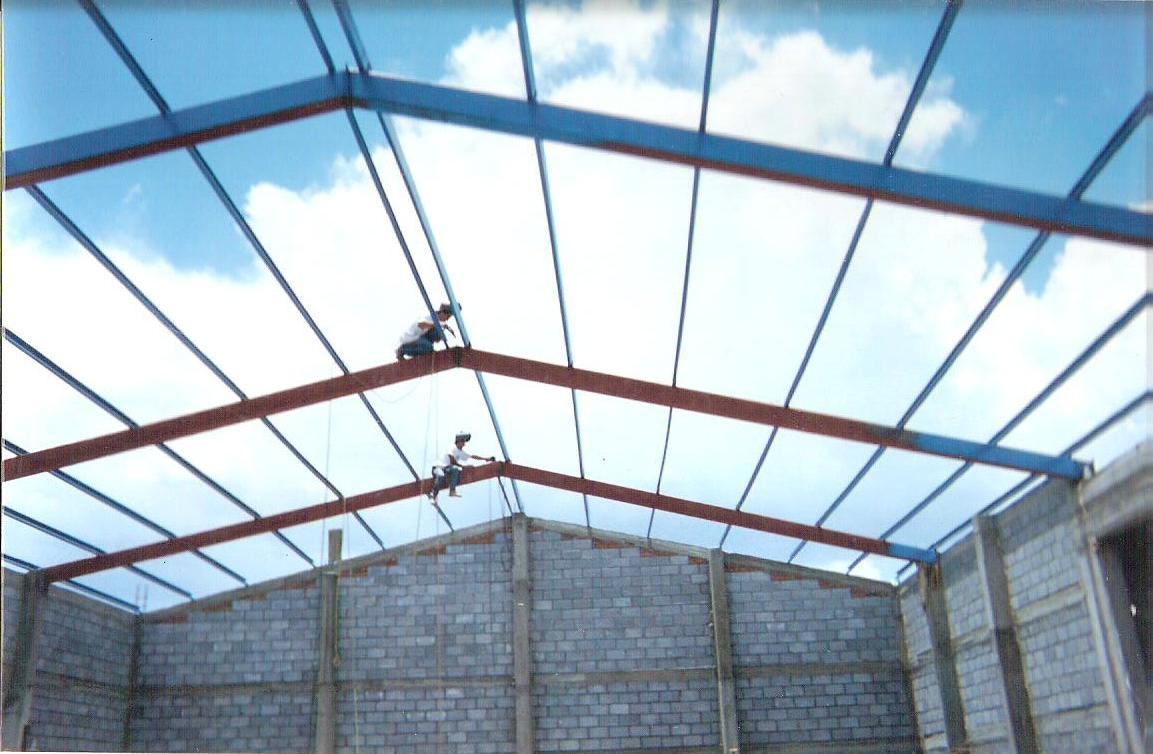 Herreria y techos cortes techos cortes for Tipos de techos