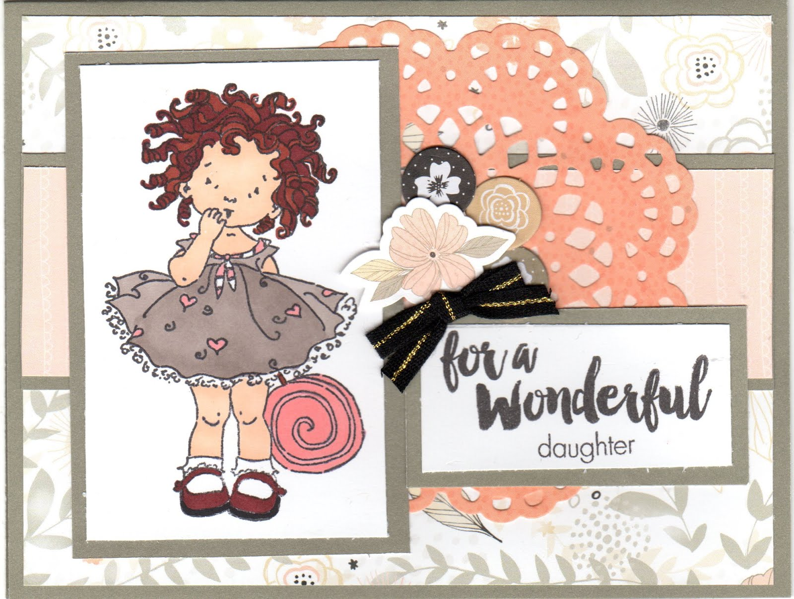 To see all the latest Cards I am working on Visit my other BLOG... Diary of a Scrapbook Addict