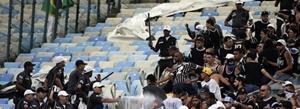 Corinthians acusa da PM do Rio de covarde