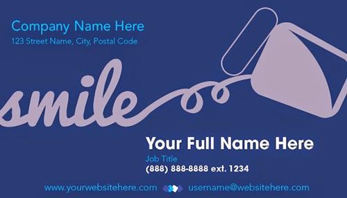 eprintfast dental business card