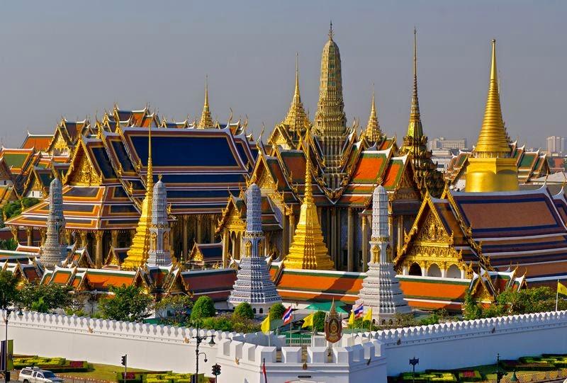 Visiter le Grand Palais Royal de Bangkok et le Wat Phra Kaeo