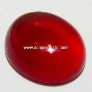 Batu Permata Red Carnelian - 03K07
