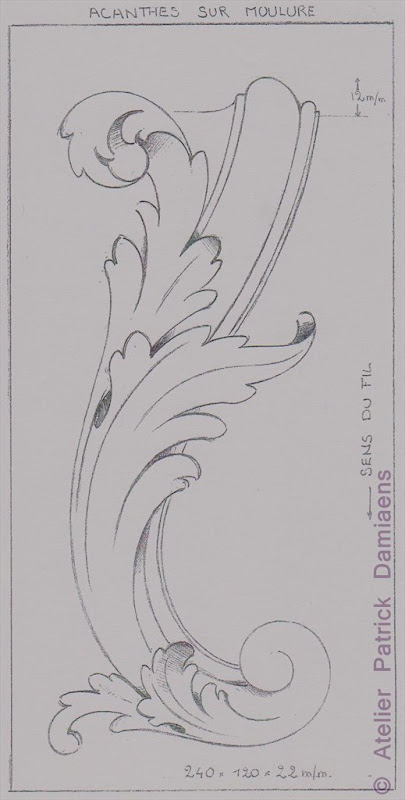 Acanthus Leaf Carving Patterns
