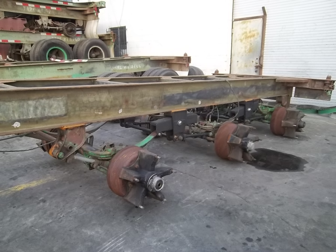 Container Chassis Landing Gear : Container chassis parts company brief what we do