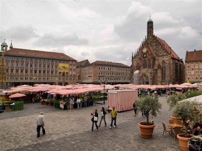 Plaza Hauptmarkt de Núremberg
