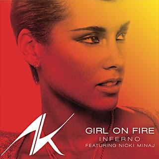 Alicia Keys - Girl On Fire (feat. Nicki Minaj) Lyrics