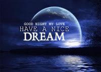 kata ucapan selamat malam