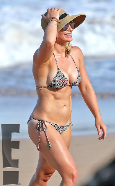 Bikini Bod alert! Hilary Duff hot singer on vacation in Hawaii
