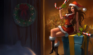 Chinese Candy Cane Miss Fortune Skin