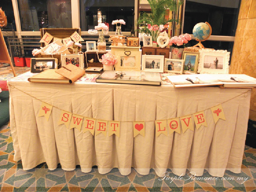 Photo Album Viewing Table Decoration, Wedding, Sweet Love, pearls, love, malaysia, kuala lumpur, selangor, mandarin oriental hotel, grand ballroom