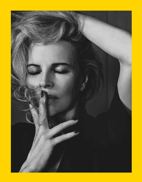 Kim Basinger by Craig McDean for Interview Magazine