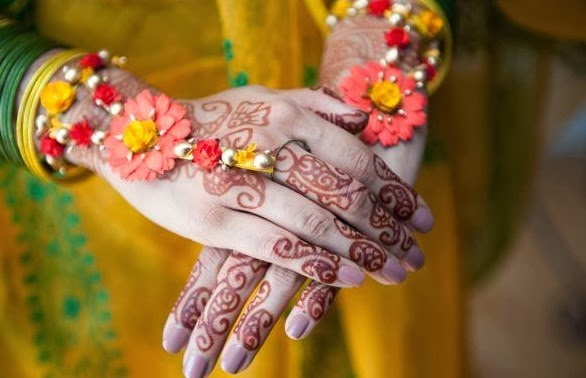 Mehndi Hands Dps : Bridal hands display pics awesome dp