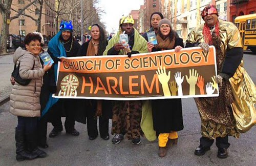 "Fully aware of the black community's affinity for religion, the Scientology cult drapes itself in the veneer  of  a ""church""."