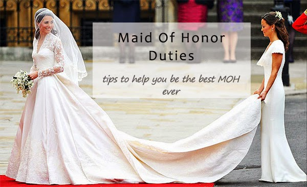 Maid Of Honor Duties And Responsibilities At The Ceremony And Reception
