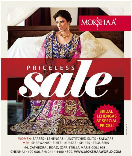 Mokshaa Priceless Sale