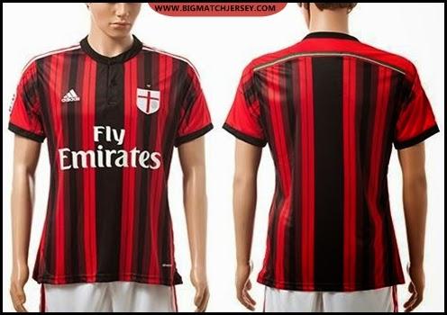 2014-15-AC-Milan-Blank-Home-Red-Black-Soccer-Jerseys