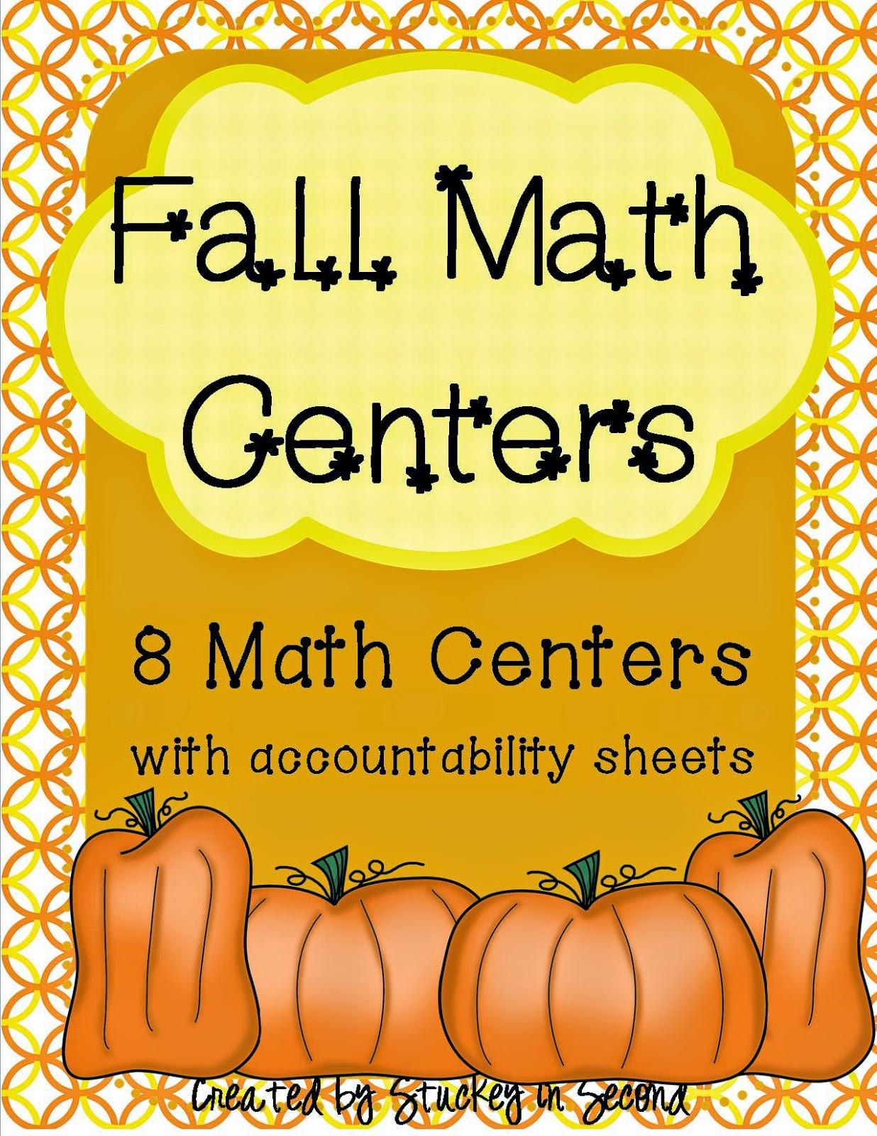 http://www.teacherspayteachers.com/Product/Fall-Math-Centers-mClass-Envision-based-8-Centers-Total-922714