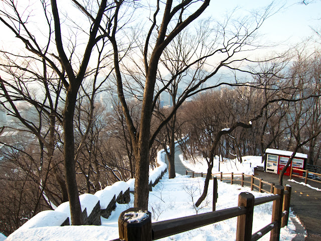 Stairway to Mt. Namsan