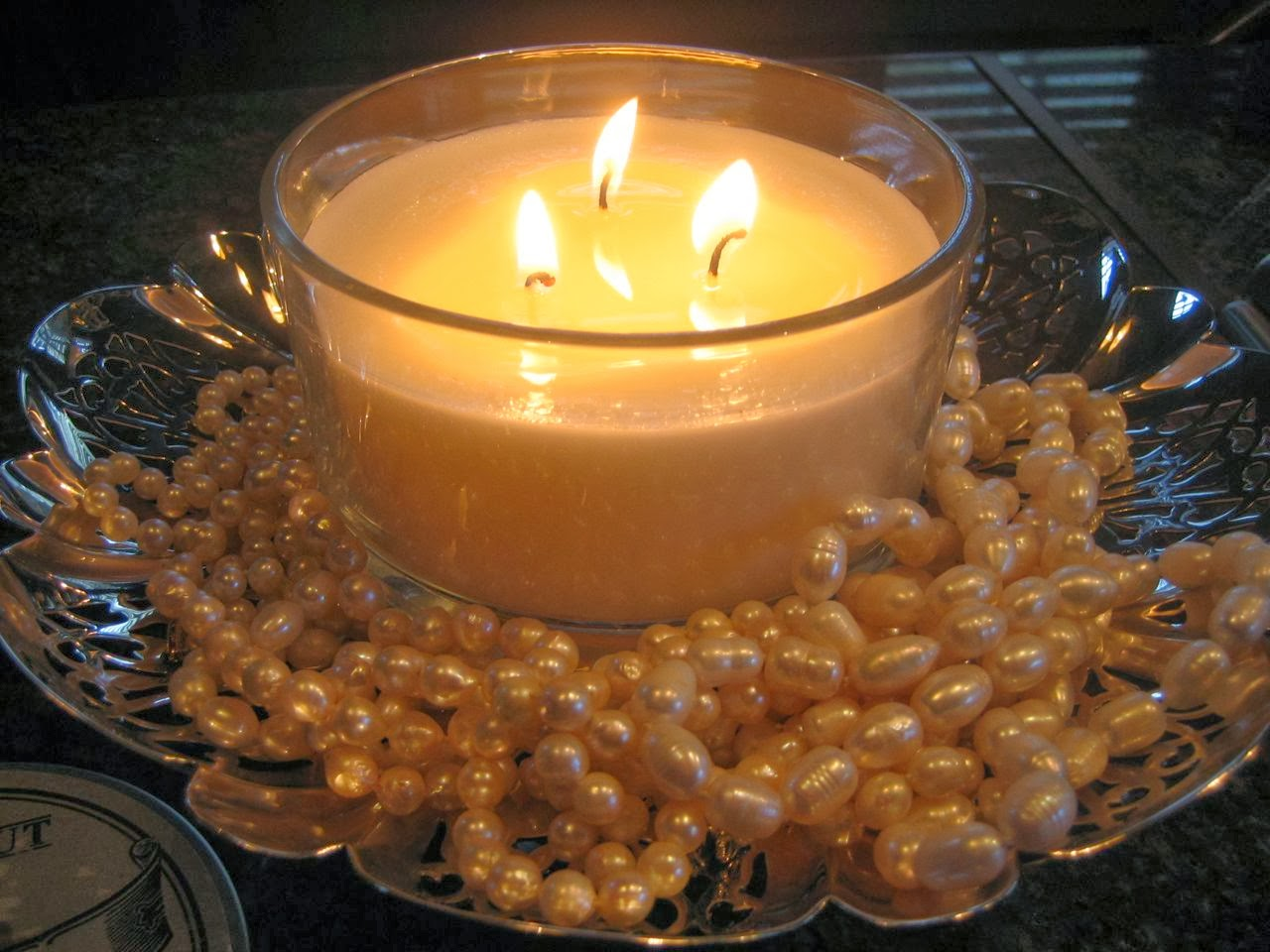 Light up your face by wearing some pearls...they look great anytime, day or night!