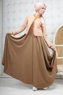4 Inspirasi Busana Muslim Dress Modern 2015