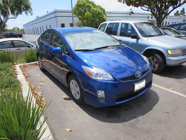 Prius after auto body repairs completed at Almost Everything Auto Body