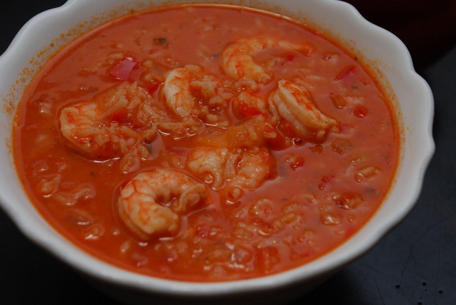 Garlic Shrimp In Coconut Milk Tomatoes And Cilantro ...