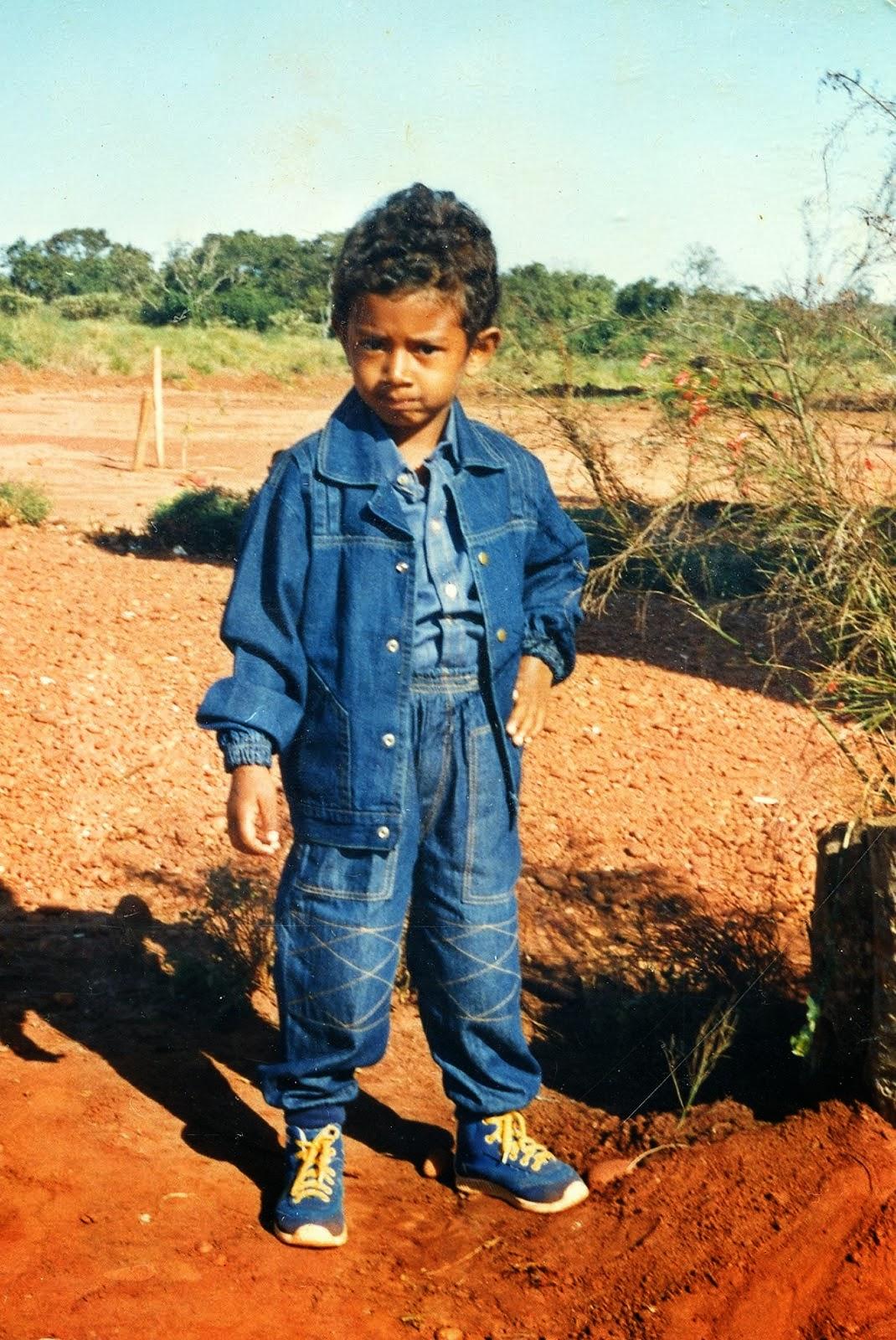 Douglas S. Nogueira - Fevereiro/1988 - 3 anos