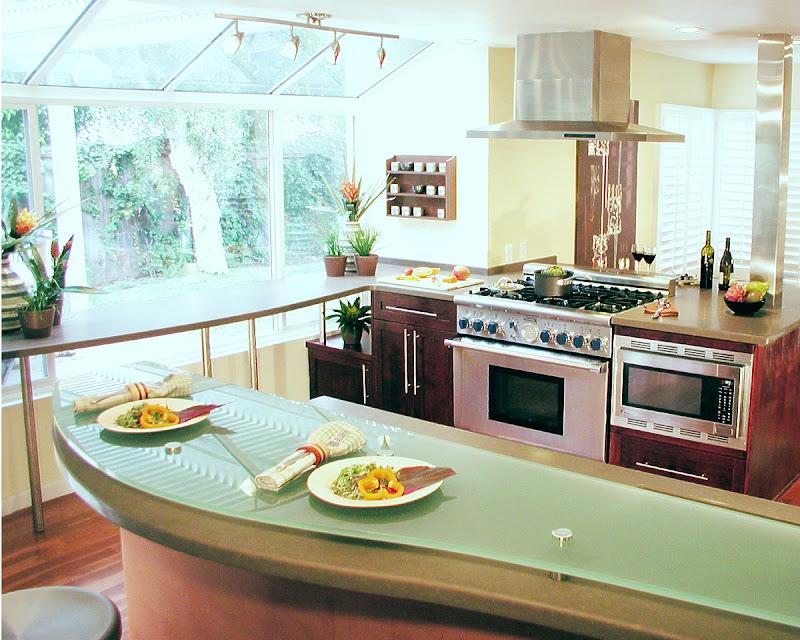 Una cocina acogedora en los principios del Feng Shui title=
