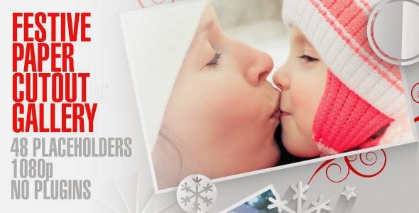 VideoHive Festive Paper Cutouts Gallery