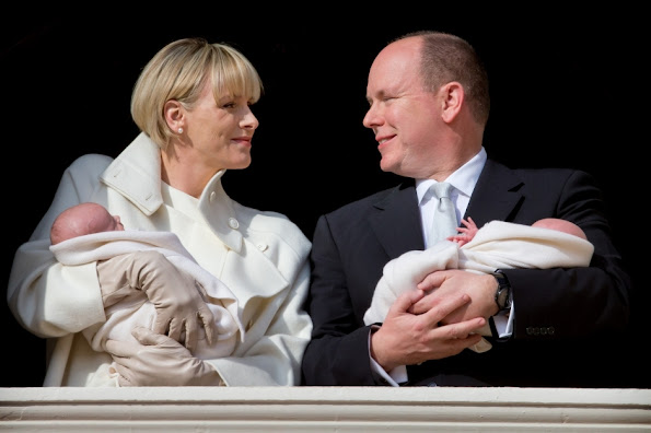 Princess Gabriella will be Gareth Wittstock, brother of Princess Charlene, and the godmother Nerine Pienaar