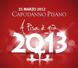 Alla faccia dei Maya a Pisa presto sarà 2013!