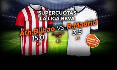 888sport super cuota mejorada liga bbva Athletic vs Real Madrid 7 marzo