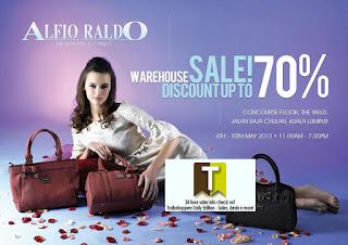 Alfio Raldo Warehouse Sale 2013