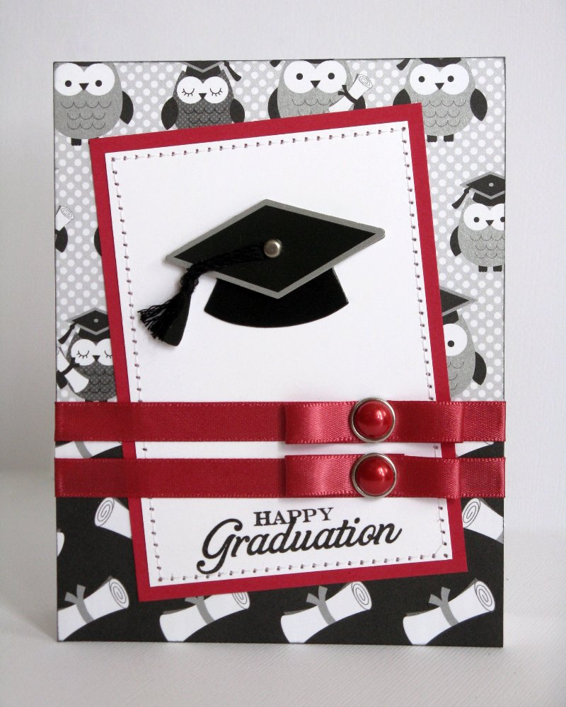 Snippets By Mendi: Some Doodlebug Cap & Gown Graduation Cards