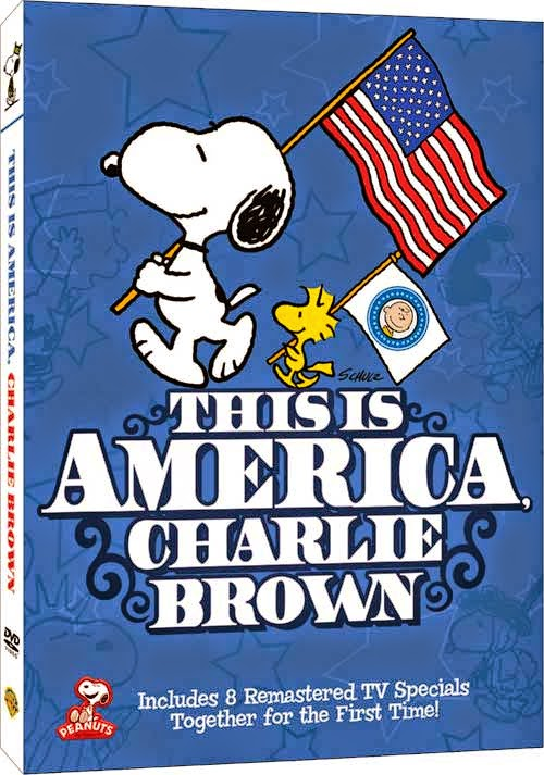 "Enter to win the ""This is America Charlie Brown"" DVD Giveaway. Ends 7/6."